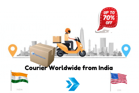 DHL Courier Charges from India to USA